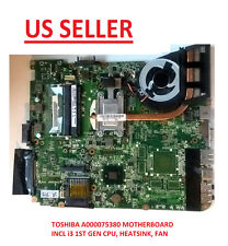 Toshiba Satellite L655 Intel Motherboard A00075380 replace AMD A000079130 US Loc