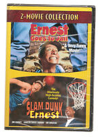Ernest Goes to Jail/Slam Dunk Ernest (DVD, 2008) New Sealed #0321CS