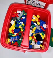 3LB Lot of Legos Three pounds Bulk Lot Lego Pieces Shipped In Creator Case