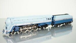 Rivarossi 4-6-4 Hudson Blue Goose Santa Fe HO scale