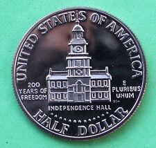 1976 S Proof Kennedy Half Dollar Coin 50 Cent JFK from Proof Set Bicentennial