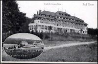 Bad Elster Sachsen Zweibildkarte~1930/40 Partie am Friedrich August Heim