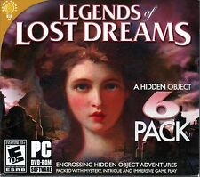 LEGENDS OF LOST DREAMS Hidden Object  6 PACK PC Game DVD NEW