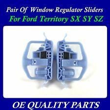 Pair of Upgrade Door Window Sliders Regulator Clip Slide for Territory SX SY SZ
