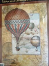 "Riolis 0033 PT Cross Stitch Kit ""Around The World"" - 11 3/4"" x 15 3/4"""