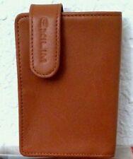 Original Casio Artificial Leather Exilim Case ESC-30 Brown / Free Shipping