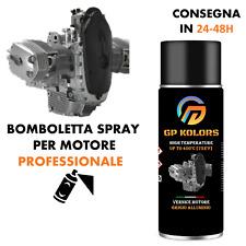 Vernice spray motore moto Grigio Alluminio alta temperatura Professionale 400°C