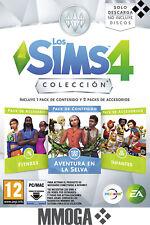 Los Sims 4 Colección Aventura en la Selva, Fitness e Infantes - PC MAC EA Origin