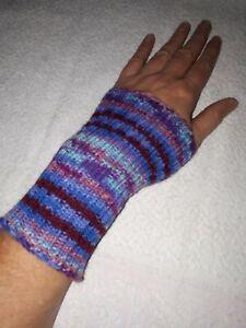 Beige Flammi Damen Zopfstrick-Armstulpen Fingerlose Handschuhe Daumenloch Handschuhe F/äustlinge Medium