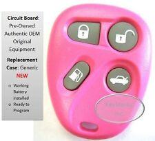 Pink Cadillac Remote control keyless entry 25695967 Memory 2 Clicker PHOB opener