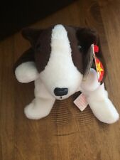 TY Beanie Babies Bruno the Pit Bull Dog Plush Toy Stuffed Animal