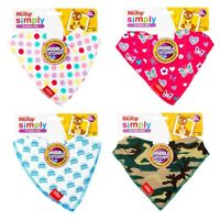 Nuby Baby Bibs Bandana Dribble Catcher Feeding Soft Cotton Bibs Infant Gift  0+m