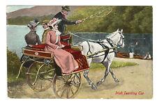 More details for irish jaunting car - postcard 1912