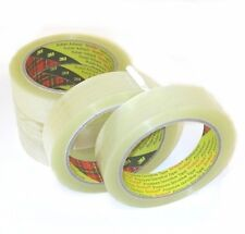 6 Rolls 3M Scotch clear tape Tape 25mm x 66m