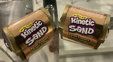 New Kinetic Sand Buried Treasure Set of 2 6 Oz With Key Tool Coins Kids Toy