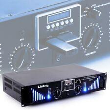 PA Verstärker 3000 Watt Endstufe USB SD AUX DJ Bluetooth Musik Sound Hi-Fi Party