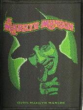 "Marilyn Manson Patch/ricamate # 18 ""Smells Like Children"""
