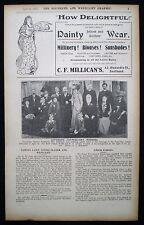 CHALTON HUBBARD REV JOSEPH WALLET SOUTHEND-ON-SEA ESSEX 1pp PHOTO ARTICLE 1911