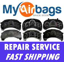 GM Chevy Silverado HD 2500 Speedometer Instrument Cluster Gauge Repair Service