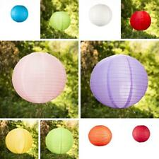 8/ 12/ 16 in. Paper Lantern For Wedding Party Event Home Decoration 13 Colors