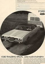 Original 1971 Ford Galaxie Magazine Ad
