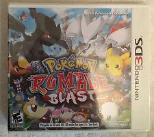 NINTENDO 3DS POKEMON RUMBLE BLAST - VIDEO GAME - *BRAND NEW SEALED*