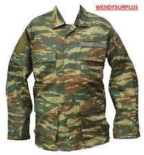 Veste de treillis de type BDU camouflage léopard de l'armée GRECQUE - Taille S/M