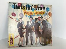 Tyler King and the Twisteens Twistin' Time LP Startime TW 100 Mono Dr. Pepper