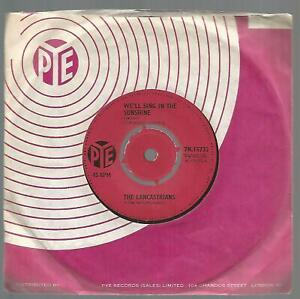 The Lancastrians - We'll Sing In The Sunshine 1964 UK Pop/Beat 45 VG/VG