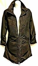 Polyester Plus Size Button-Down Coats & Jackets for Women