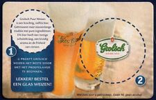 GROLSCH - BEERCOASTER FROM THE NETHERLANDS FE16026