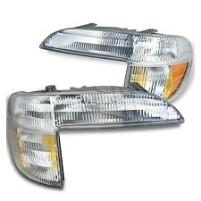 HOLIDAY RAMBLER ENDEAVOR 2000 2001 PAIR TURN SIGNAL CORNER LIGHTS FRONT LAMPS RV
