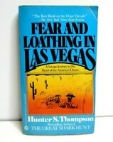 Fear And Loathing In Las Vegas Hunter S. Thompson Warner Books 1983