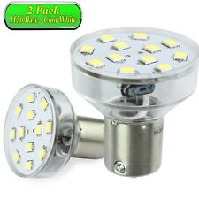 2 Pack LeisureLED RV LED Light 1156 1139 1141 1383 LED Bulb 2 Watt 275 Lumen CW