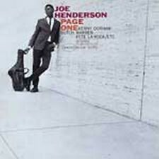 Joe Henderson - Page One (RVG) (NEW CD)