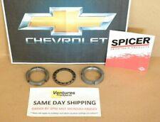 Front Spindle Nut Kit 10 Bolt, Dana 44 Chevy K5 K10 K20 73-91 OEM Spicer