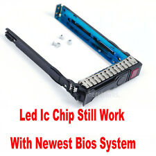 "2.5"" SFF HDD Tray Caddy HP G8 Gen8 651687-001 651699-001 ML350e ML310e SL250s G9"