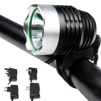 Bicycle Bike CREE XM-L T6 LED Rechargeable Head Light Headlight