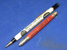 2 Vintage Advertising Pencil/Pen & Bullet Pencil,Indianapolis,Ind.& St.Louis,Mo