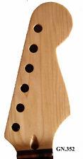 Antonio-Dot Inlay Handmade-Solid Wood Maple Electric Scalloped Guitar Neck 352