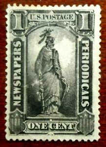 Buffalo Stamps: Scott #PR90 Intense Black Newspaper, MH Part OG & F/VF, CV= $405