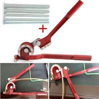 1/4, 5/16, 3/8 1/2Tubing Bender 180° Degree Tube Pipe Bending Tools 90° Forming
