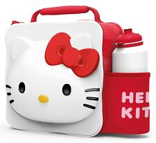 HELLO KITY Insulated 3D Lunch Bag Box And Drink Sport Water Bottle Set