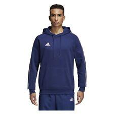 Adidas Hoody Mens Core 18 Hoodie Pullover Sweatshirt Training Top Hoodies Size