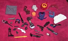 Vintage Estate Sale Lot 30 Accessories Pieces Sword Gun Hands Weapons Sheild