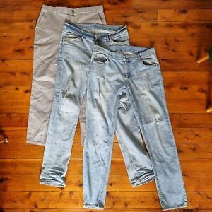 Lot Of 3 Jeans Pants Cheap Monday Zanerobe 36