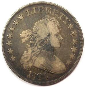1800 Draped Bust Silver Dollar $1 - Very Fine (VF) - Rare Type Coin!