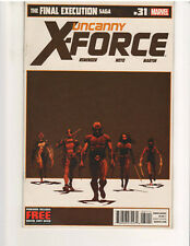 UNCANNY X-FORCE #31 (2010 Series) 1st Print, NM, (Marvel Comics, Nov. 2012)