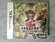BAKUGAN RISE OF THE RESISTANCE NINTENDO NDS DS DSi 2DS 3DS PAL ITALIANO COMPLETO