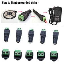 10x 12V DC Femelle Connecteur d'alimentation Balun Adaptateur Plug Socket Jack